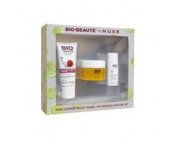 NUXE BIO BEAUTE COFRE DETOX EXFOLIANTE 60ML+MASCARILLA 50ML +AGUA MICELAR 30ML