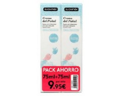 SUAVINEX PACK DUO CREMA PAÑAL 75 ML +75 ML