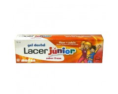 LACER GEL DENTAL JUNIOR DE FRESA 75 ML