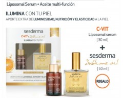 PACK SESDERMA C-VIT SERUM 30 ML + SUBLIME OIL 50 ML