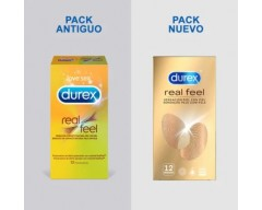DUREX REAL FEEL SIN LATEX 12 PRESERVATIVOS